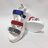 38,39 р. Босоніжки жіночі, літні сандалі на товстій підошві, фото 2