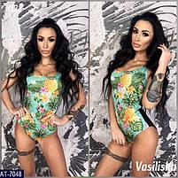 Женский купальник цельный сдельный купальник, стильная модель 2019, фото 2
