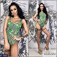 Женский купальник разных принтов , стильная модель 2019, фото 5