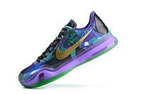Мужские Баскетбольные кроссовки Nike Kobe 10 (Purple/Multicolor)