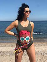 Женский стильный купальник ,слитный купальник, фото 3