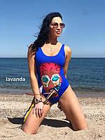 Женский стильный купальник ,слитный купальник, фото 4