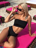 Женский стильный купальник, купальник бандо, фото 6