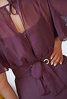 Женское красивое платье для пышных дам, фото 4