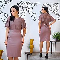 Женское красивое платье для пышных дам, фото 5