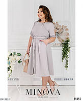 Женское нарядное платье больших размеров, фото 2