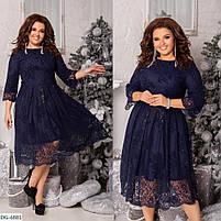 Женское нарядное платье больших размеров, фото 3