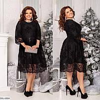 Женское нарядное платье больших размеров, фото 5
