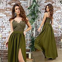 Женское вечернее платье в пол, фото 2
