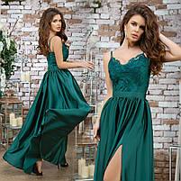 Женское вечернее платье в пол, фото 4