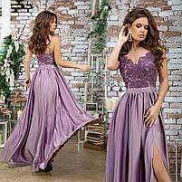 Женское вечернее платье в пол, фото 7