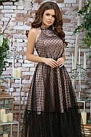 Женское красивое платье с фатином, фото 4