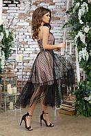 Женское красивое платье с фатином, фото 5