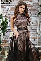 Женское красивое платье с фатином, фото 6