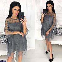 Женское нарядное платье новинка, фото 2