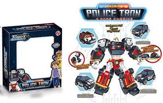 Робот-трансформер Tobot Police Tron 521