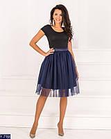 Женская фатиновая юбка, фото 5