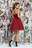Женское модное платье с фатиновой юбкой, фото 3