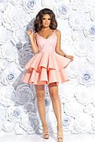 Вечернее платье с воланами, фото 3