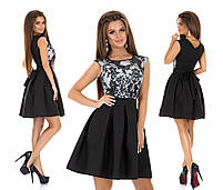 Женское нарядное платье с гипюром мод.7240, фото 2