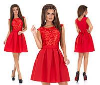 Женское нарядное платье с гипюром мод.7240, фото 3