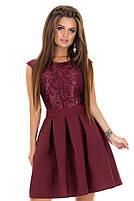 Женское нарядное платье с гипюром мод.7240, фото 4