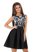 Женское нарядное платье с гипюром мод.7240, фото 5