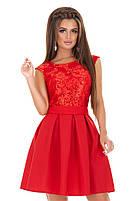 Женское нарядное платье с гипюром мод.7240, фото 6