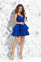 Вечернее платье с воланами, фото 5