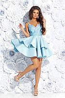 Вечернее платье с воланами, фото 7