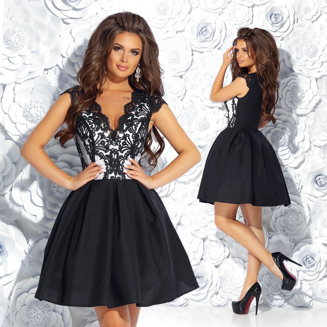 Женское коктельне платье мод.7238