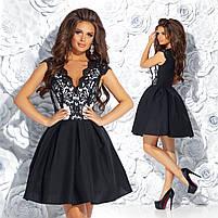 Женское коктельне платье мод.7238, фото 5