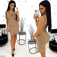 Женское приталенное платье разных цветов, фото 2