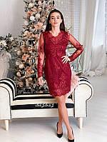 Элегантное кружевное платье, фото 9