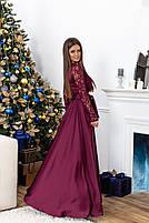 Красивое длинное платье с кружевоом, фото 5