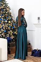 Красивое длинное платье с кружевоом, фото 6