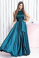 Длинное вечернее платье с кружевом, фото 5