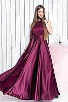 Длинное вечернее платье с кружевом, фото 6