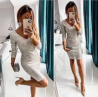 Платье с пайетками новинка, фото 2