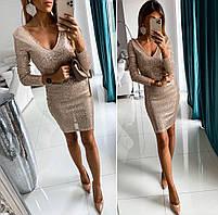 Платье с пайетками новинка, фото 4