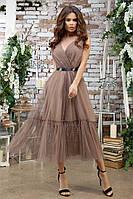 Женское вечернее красивое платье разных цветов, фото 2