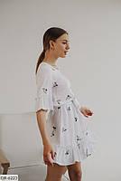 Красивое летнее платье больших размеров, фото 2