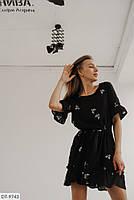 Красивое летнее платье больших размеров, фото 5