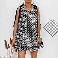 Женское стильное платье на завязках, фото 2