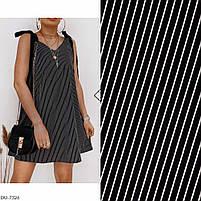 Женское стильное платье на завязках, фото 5