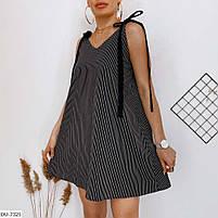 Женское стильное платье на завязках, фото 6