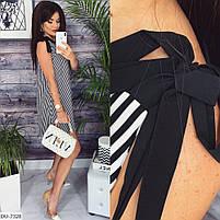 Женское стильное платье на завязках, фото 7