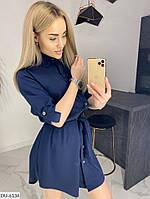Женское стильное платье-рубашка, фото 3