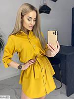 Женское стильное платье-рубашка, фото 5