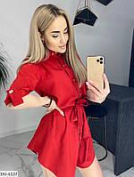 Женское стильное платье-рубашка, фото 6